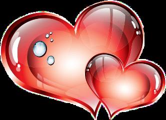 hearts heart coeurs corazones ftestickers