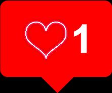remixit heart like instagram notification