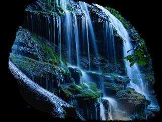 ftestickers waterfall freetoedit