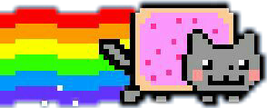 nyancat cat rainbow freetoedit