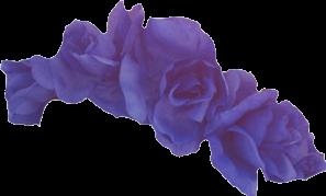 flower crown flowercrown purple vi