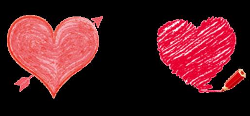 قلبين freetoedit