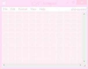 notepad pink computer freetoedit