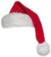 hat christmas santa freetoedit
