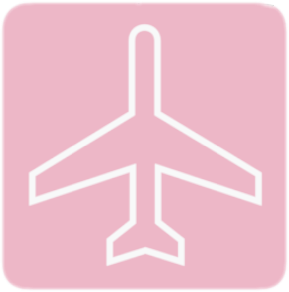 Airplane Pink Tumblr Fly Journey Travel Aeroplano Avion