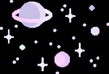 space planet star shiny galaxy