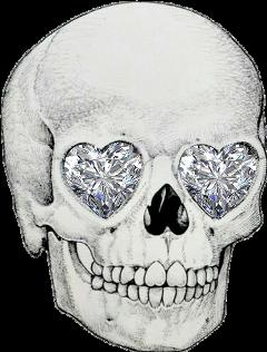 diamond head skeleton freetoedit
