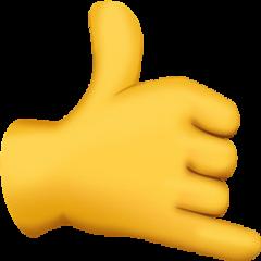 freetoedit emoji emojisticker emojihand callemoji
