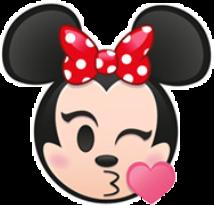 minnie mickey mouse love kiss
