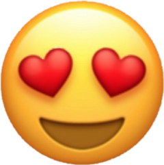 heart heartyface love emoji ios10