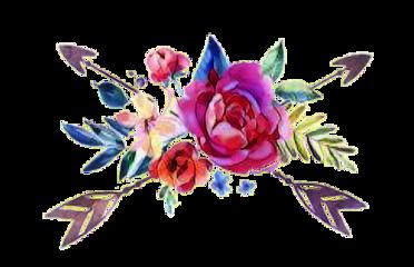 flowers floral arrows sticker freetoedit