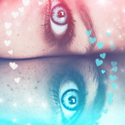 freetoedit madewithpicsart perspectives hearts eyes