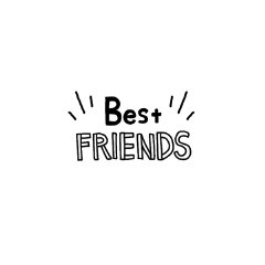 bestfriend friend bestfriendsticker freetoedit friendshipdaystickerremix