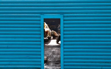 freetoedit blue door lines people