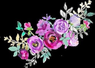 beautiful flowers purple fushia pink
