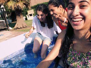 dpcmybesties friendshipday girls pool fun