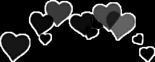 tumblr tumblrhearts hearts black 10