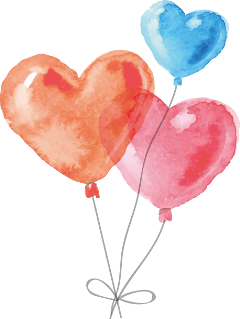 heart balloons valentinesday love ftestickers