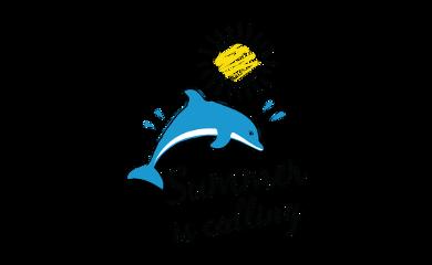 ftestickers genfest summer dolphin sun