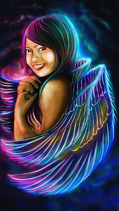 wdpsuperpower mydrawing madewithpicsartdrawingtools wings fantasy