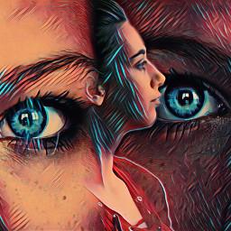 freetoedit eyeswideopen daydreaming remixedbyme