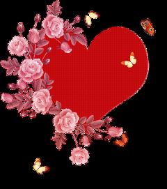 ftestickers heart butterfly freetoedit
