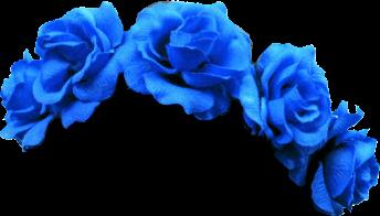 rose crown blue freetoedit