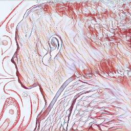 freetoedit wind girl pink pastel