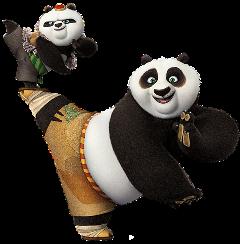 panda cartoon ftestickers freetoedit