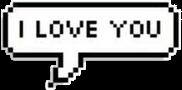 tumblr message love blackandwhite cute