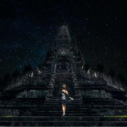 freetoedit temple starynight wonferful wonderfulindonesia