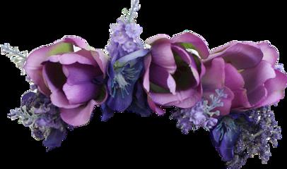 flower flowers violet наголову ободок
