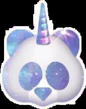 panda black white galaxy emoji