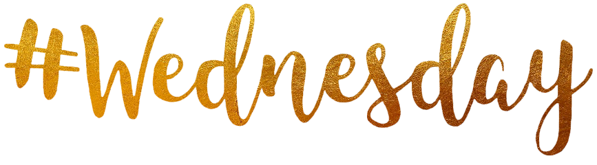 wednesday gold text freetoedit