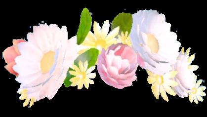 snapchat crown flower flowercrown filter