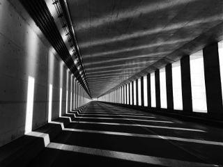 dpcblackandwhite freetoedit shadow bnw tunnel