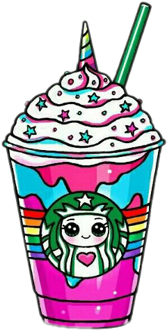 unicorn starbucks freetoedit