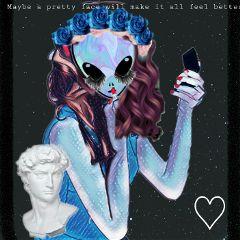 alien aesthetic freetoedit