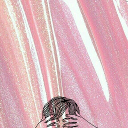 gurl pink glitter lockscreens freetoedit