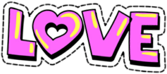 love text freetoedit