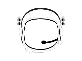 freetoedit ftestickers austronaut space microphone