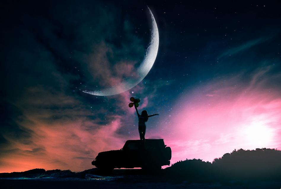 #FreeToEdit  #picsart #night_sky #cosmos  @pa