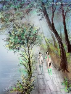 drawing love nature colorful