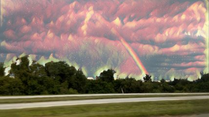 rainbow clouds nature photography colors
