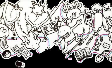 taddl doodles monster datadam love