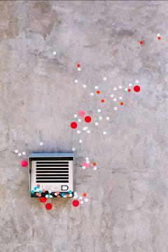 freetoedit dots object wall minimal