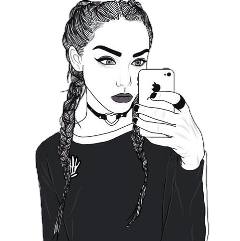 girl tumblr tumblrgirl selfie iphone