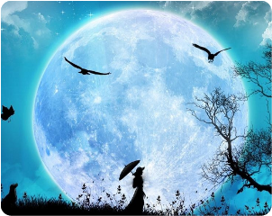 ftemoon moon night freetoedit
