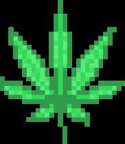 марихуана пиксель freetoedit