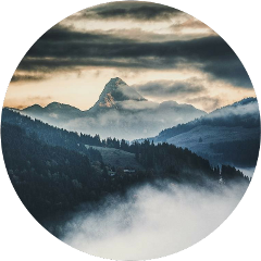 ftestickers nature landscape mountains clouds